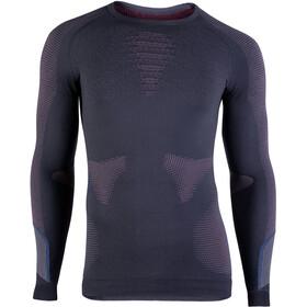 UYN Ambityon UW LS Shirt Men charcoal/bordeaux/avio